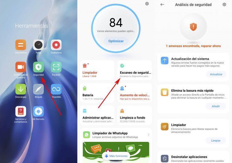 Así puedes realizar un análisis de seguridad de tu Xiaomi sin instalar aplicaciones. Noticias Xiaomi Adictos