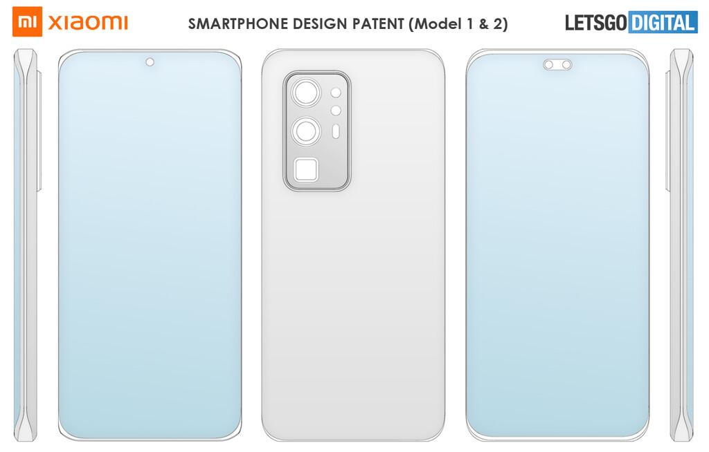 Xiaomi запатентовала четыре новых мобильных телефона, все без физических кнопок. Новости Xiaomi Addicts