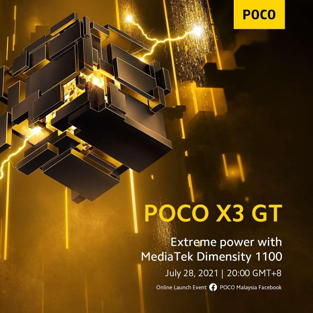 POCO confirma que procesador y carga rápida llevará el POCO X3 GT. Noticias Xiaomi Adictos