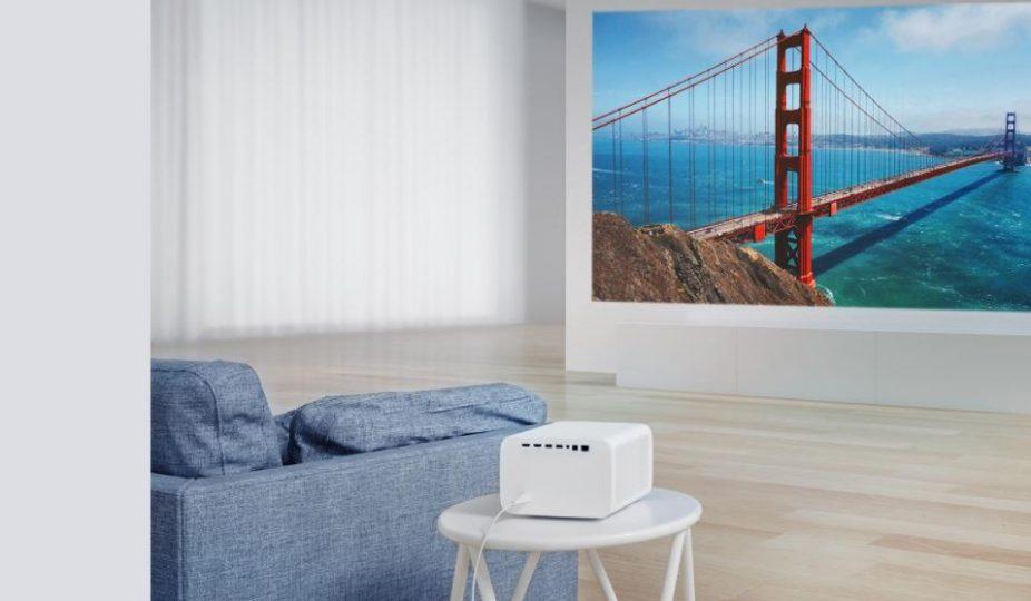 Este increíble proyector de Xiaomi tiene ahora un descuento de casi 300 euros. Noticias Xiaomi Adictos