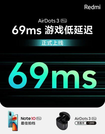 Los Redmi Buds 3 Pro humillan a Apple con una latencia de menos de la mitad que los AirPods Pro. Noticias Xiaomi Adictos