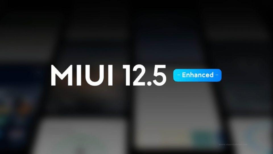 Ya puedes descargar MIUI 12.5 Enhanced Edition