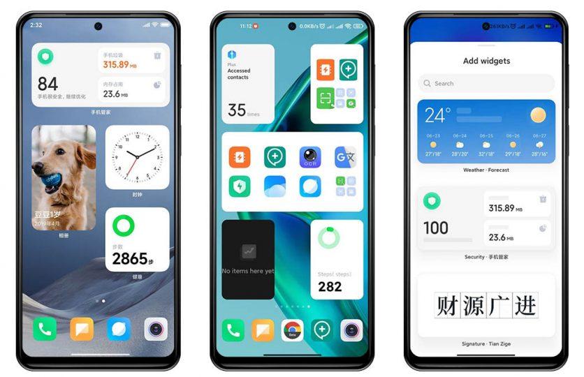 Nuevos widgets al estilo iOS desembarcan por sorpresa en MIUI. Noticias Xiaomi Adictos