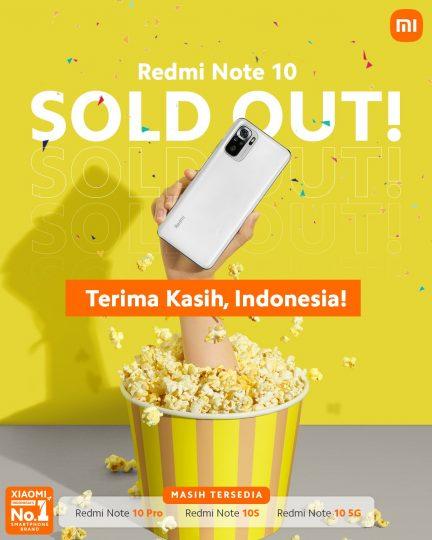 Anuncio oficial de Xiaomi Indonesia
