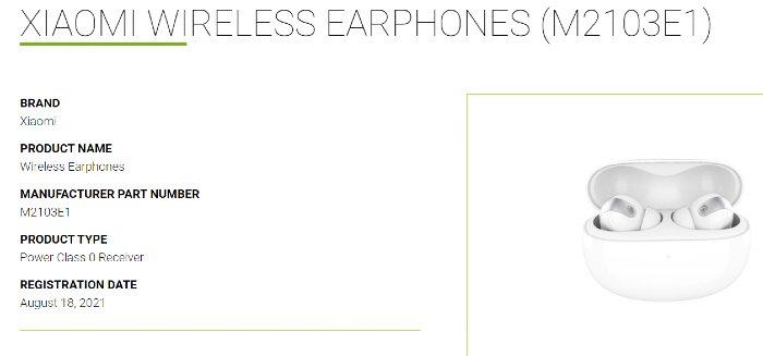 Xiaomi Mi Wirelesss Earphones, los nuevos auriculares inalámbricos de Xiaomi ya han sido certificados. Noticias Xiaomi Adictos