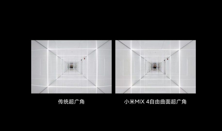 Lente gran angular del Xiaomi Mi Mix 4