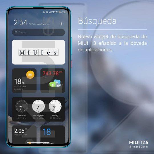 Xiaomi su launcher con parte de las novedades que veremos en MIUI 13. Noticias Xiaomi Adictos