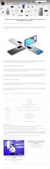 Xiaomi publica por el error el nuevo Redmi 10 junto a todas sus características. Noticias Xiaomi Adictos