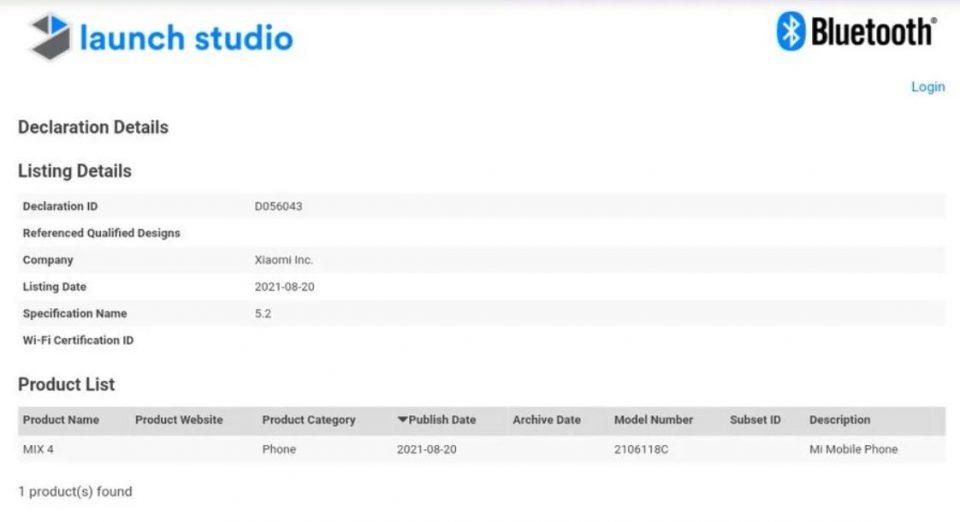 El Xiaomi Mi Mix 4 cada vez más cerca de debutar en el mercado Global. Noticias Xiaomi Adictos