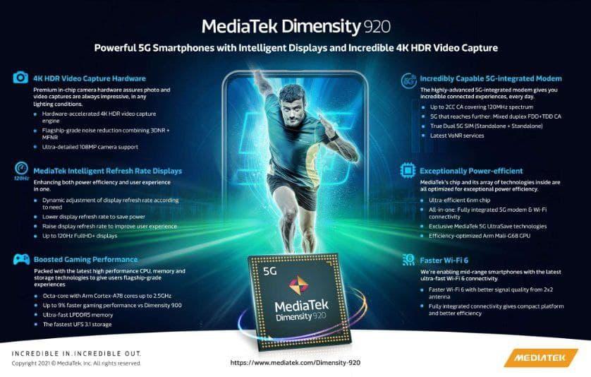 Nuevos MediaTek Dimensity 920 y Dimensity 810: potencia y 5G para la gama media. Noticias Xiaomi Adictos