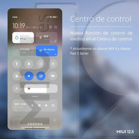 Xiaomi mejora el Centro de control de MIUI incorporándole una importante novedad. Noticias Xiaomi Adictos