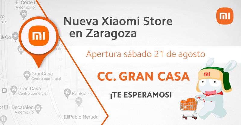 ¿Vives en Zaragoza? Xiaomi abrirá una nueva Mi Store el próximo 21 de agosto. Noticias Xiaomi Adictos