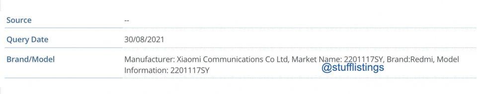 Un nuevo Redmi acaba de ser certificado, ¿es este el nuevo Redmi Note 11?. Noticias Xiaomi Adictos