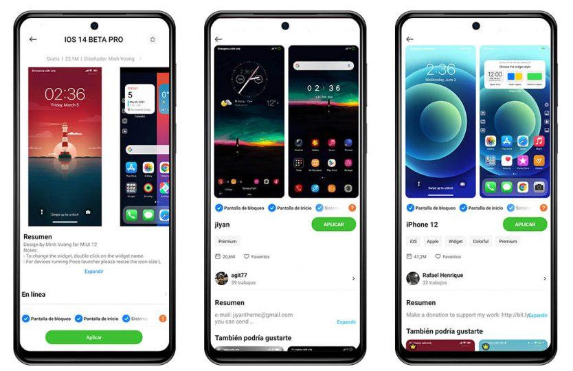 Estos son los tres temas para móviles Xiaomi más descargados del momento. Noticias Xiaomi Adictos