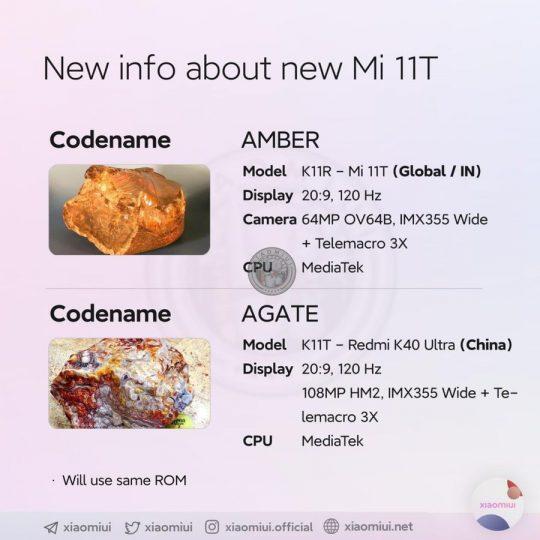 El Xiaomi Mi 11T se deja ver de nuevo confirmando algunas de sus características. Noticias Xiaomi Adictos