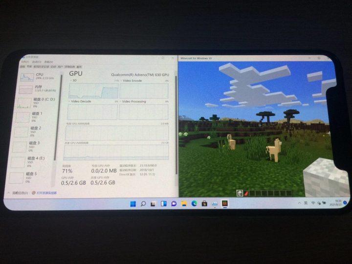 Consiguen instalar Windows 11 en un móvil de Xiaomi y jugar al Minecraft. Noticias Xiaomi Adictos
