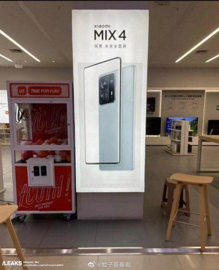 El Xiaomi Mi Mix 4 se deja ver en todo su esplendor por primera vez. Noticias Xiaomi Adictos