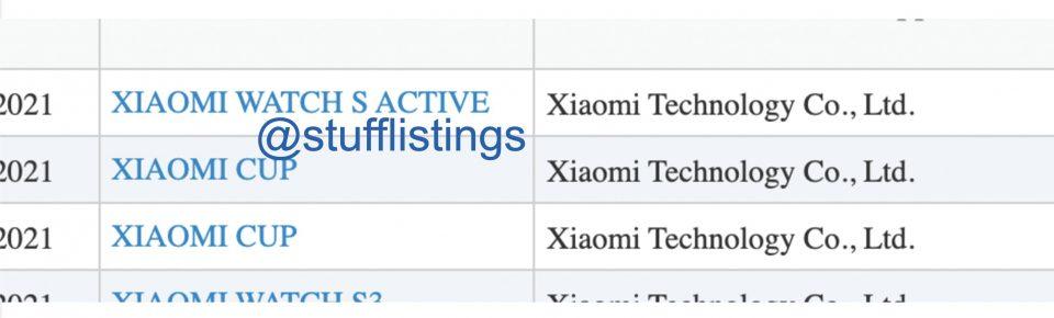 Xiaomi Watch S y Watch S Active, dos nuevos smartwatches que ya han sido certificados. Noticias Xiaomi Adictos