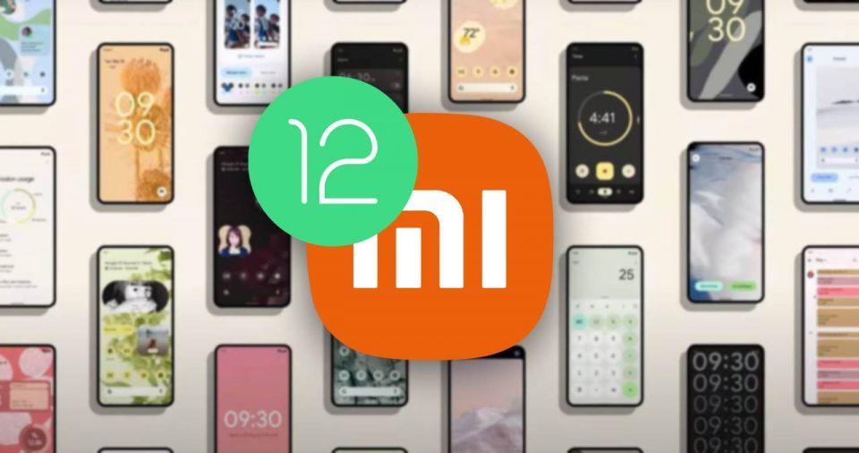 Estos cuatro Xiaomi han comenzado a recibir por primera vez Android 12