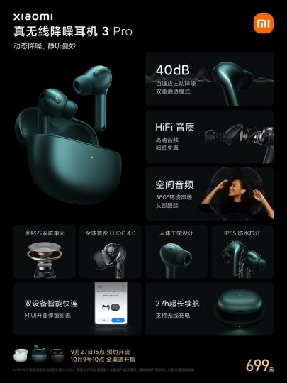 Los nuevos Xiaomi Headphones 3 Pro ya están aquí y cuentan con grandes novedades. Noticias Xiaomi Adictos