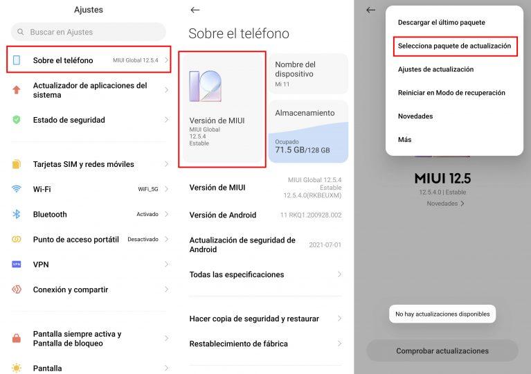 Cómo forzar tu Xiaomi para que se actualice a la última versión de MIUI. Noticias Xiaomi Adictos