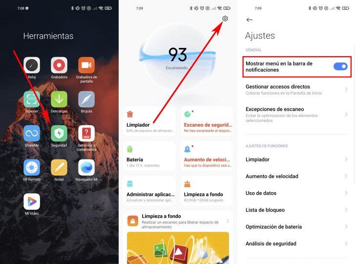 Así puedes añadir este práctico menú al panel superior de tu Xiaomi. Noticias Xiaomi Adictos