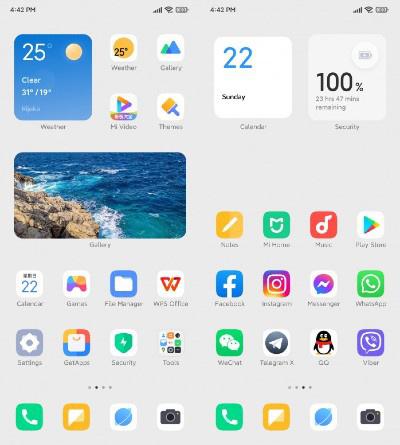 MIUI 13 se deja ver de nuevo: así será su pantalla principal. Noticias Xiaomi Adictos