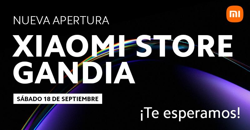 ¿Vives en Gandía? Xiaomi abrirá una nueva Mi Store este próximo sábado
