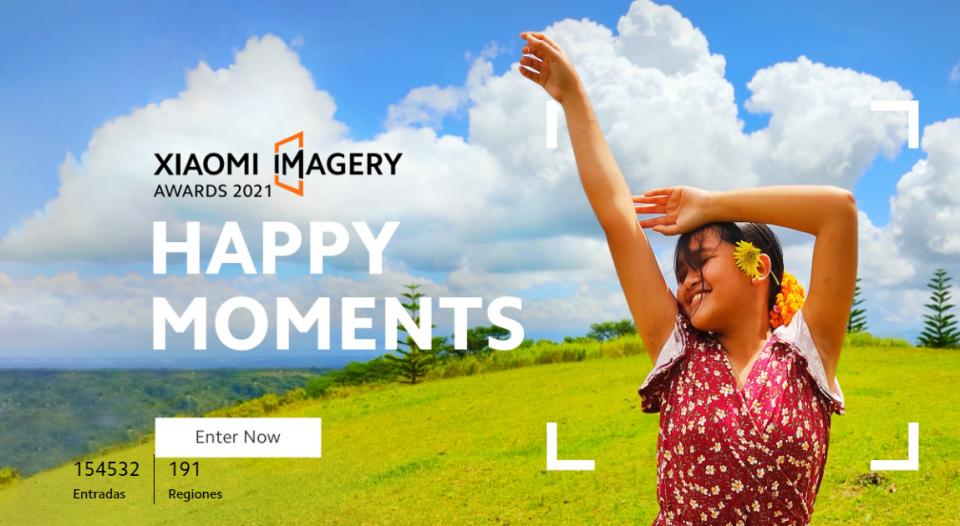Xiaomi Imagery Awards 2021, si se te da la fotografía este es tu momento